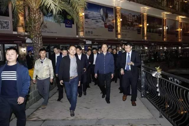 梅州谭君铁市委书记率队调研省、市重点建设项目—创艺园欢乐小镇