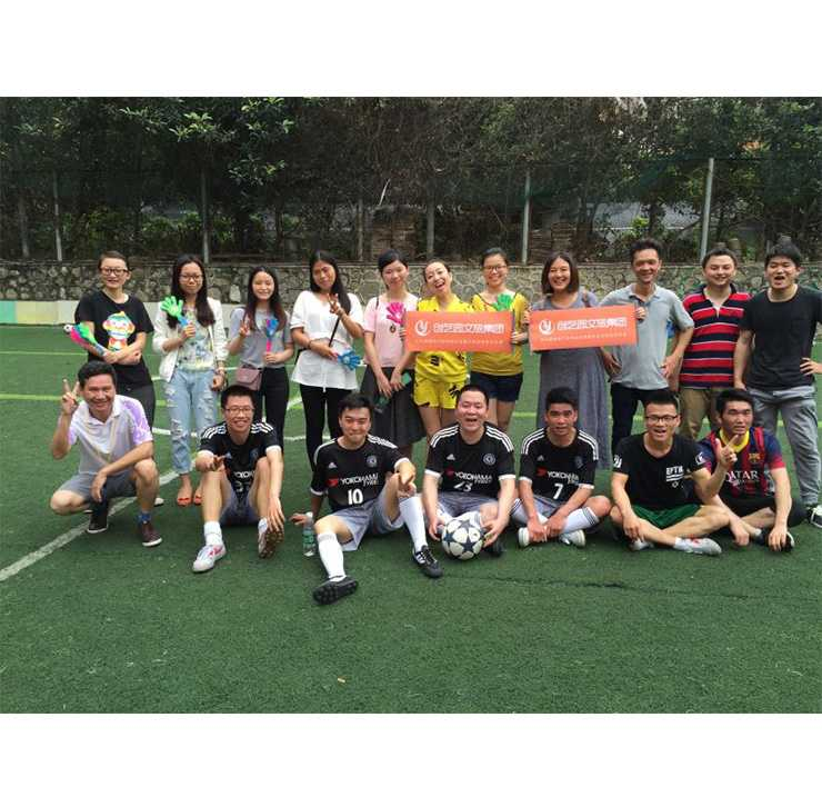 2016年04月创艺园足球比赛