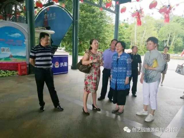 景德镇市梅亦市长率代表团走访创艺园并参观考察深圳重点文旅项目