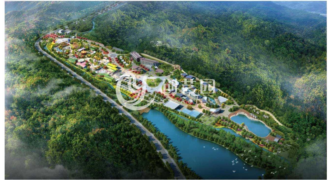 延安锦绣黄龙龙湾生态园设计及工程案例
