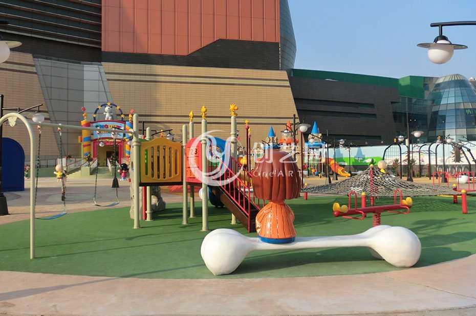 北京华润五彩城史努比乐园设计及工程案例