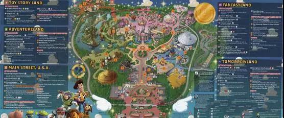 关于主题公园导览图设计要素,设计师有话说!