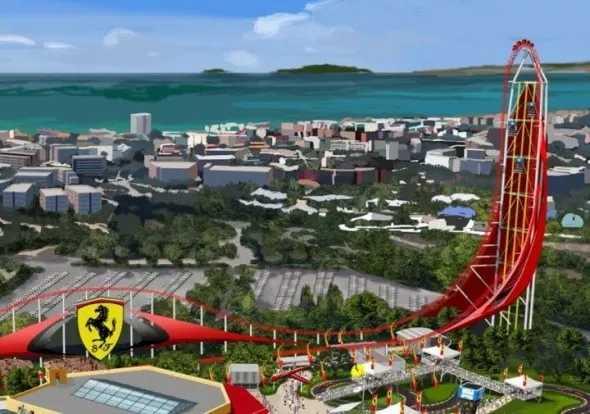国际大咖级主题公园的设计效果图