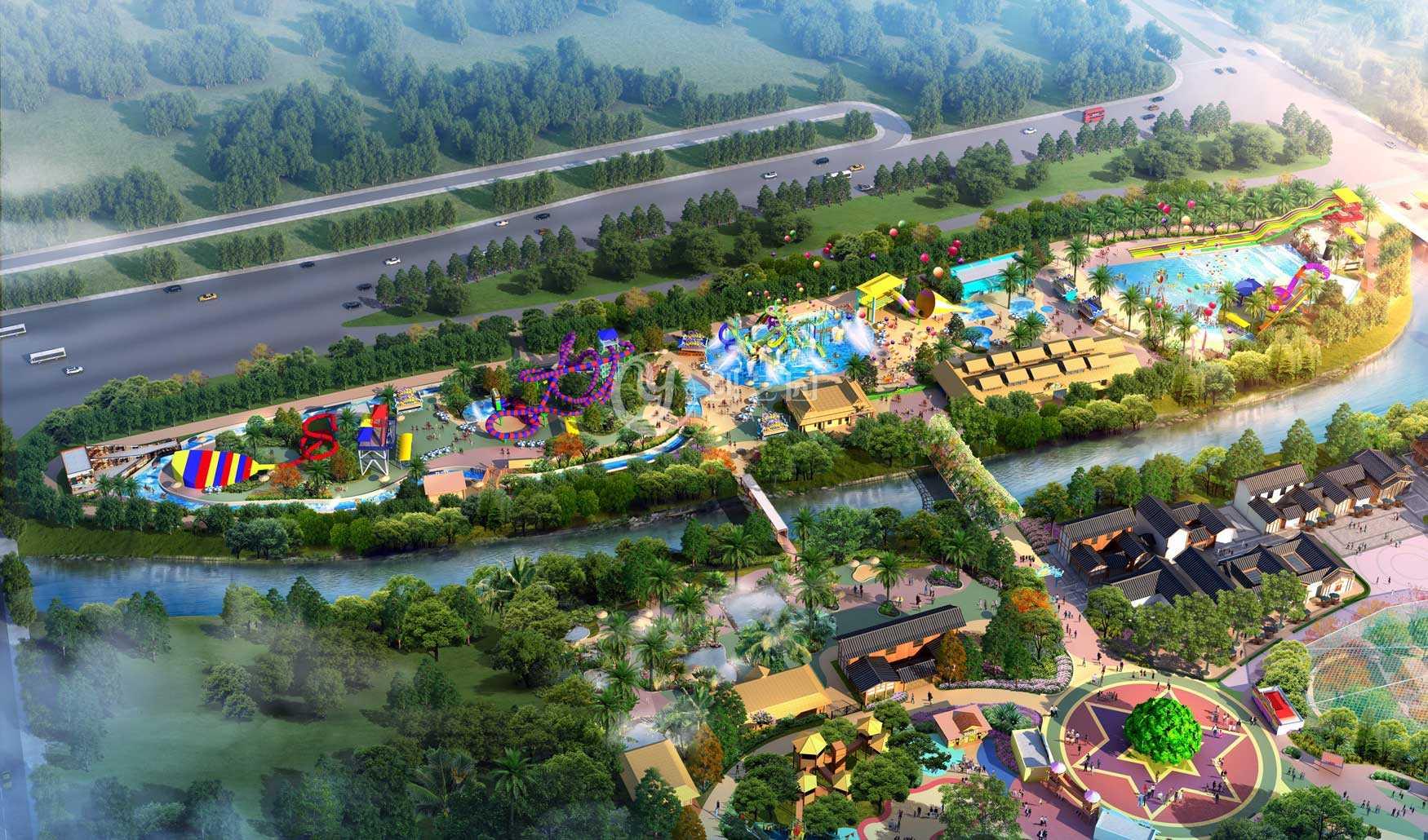 主题乐园总规设计