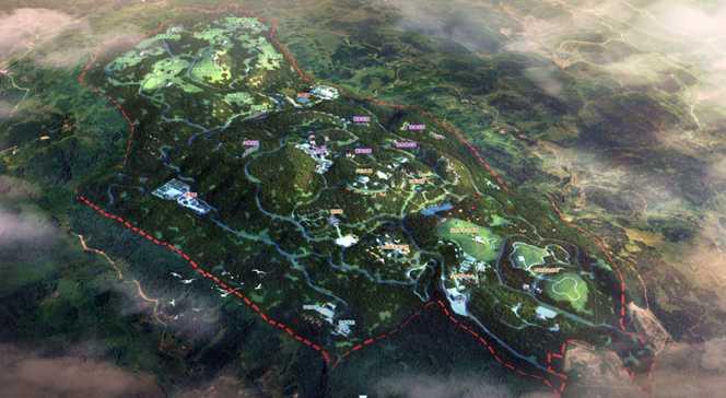 四川欢喜坪—小康山旅游度假区概念规划