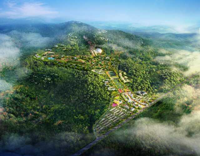案例鉴赏 //  概念规划|莫干山—鹿港文化旅游度假区