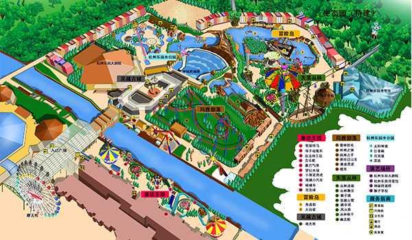主题乐园总体设计