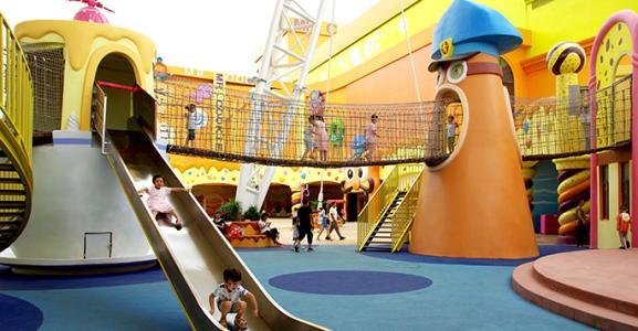 攀爬乐园的多维体验——主题公园设计