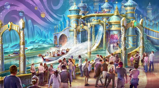 主题的概念对于乐园的运营至关重要——主题乐园规划