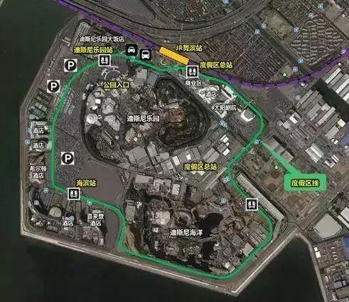 主题乐园区位交通规划