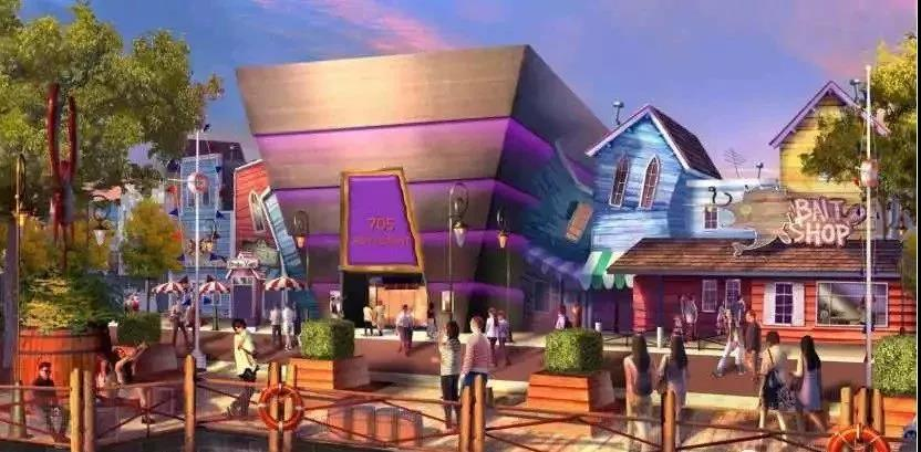 环球影城主题公园的创意点——主题公园规划设计