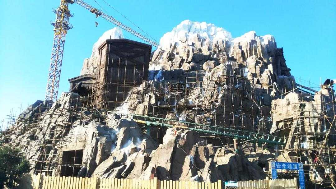 深度剖析主题乐园大体量雪山项目包装设计及工程施工管理