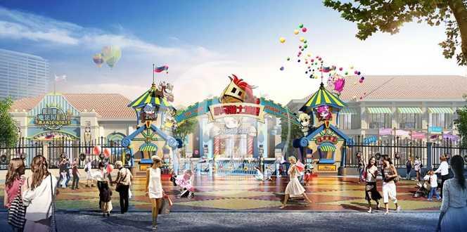 喜讯|创艺园参与设计的博罗东江新城欢乐小镇开业啦!