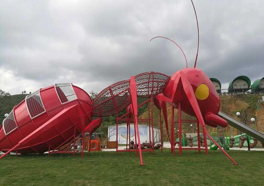 """全国首家""""蚂蚁""""主题无动力儿童乐园—高峰谷蚂蚁王国设计方案解析"""