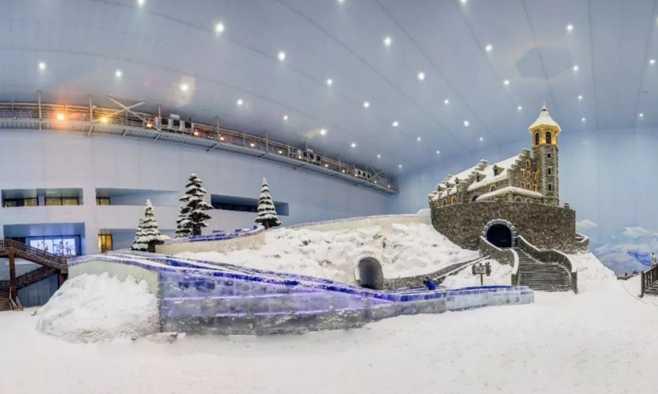如何建造特色冰雪乐园?