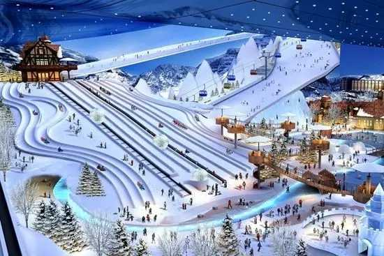 寒地冰雪主题乐园如何通过空间布局设计延长游客停留时间?