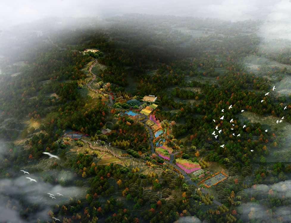 """主题景区滨水景观设计,找回城市""""失落的生态空间""""!"""