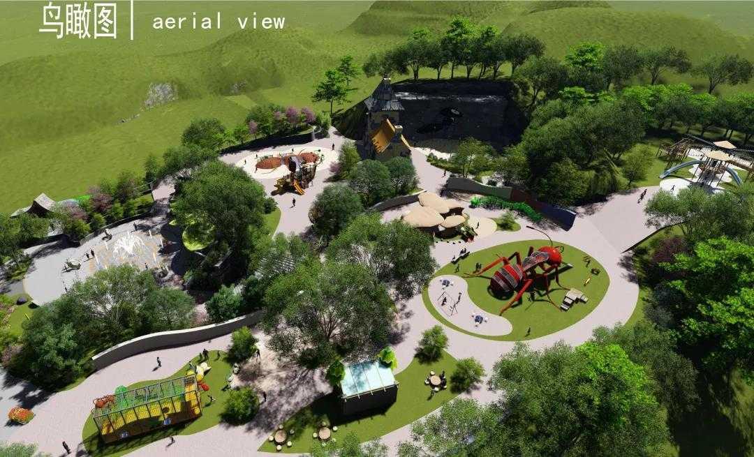 高峰谷蚂蚁王国概念、方案及施工图设计案例