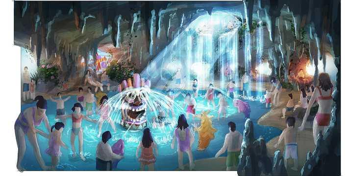 水乐园总体规划