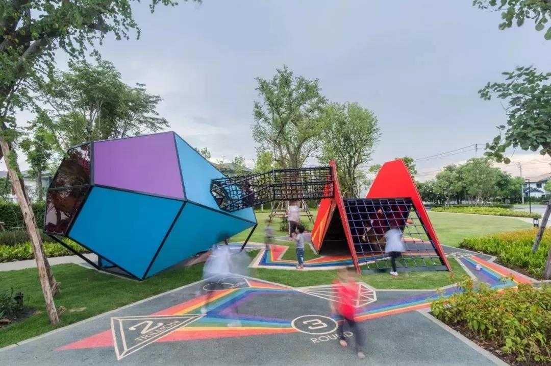 划重点!看亲子主题乐园设计的四种常用手法
