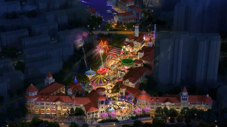 梅州创艺园欢乐小镇