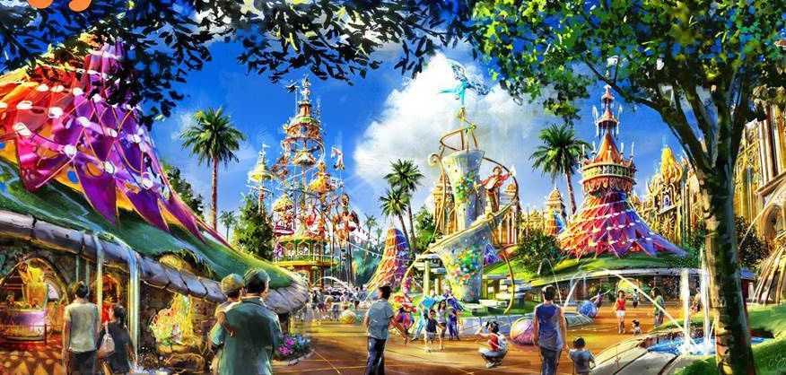 主题乐园规划建设工作