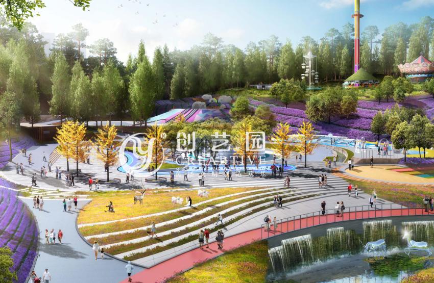 广安-十里溪谷旅游景区设计案例