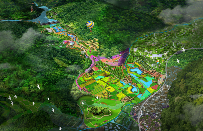 延安南泥湾景区概念设计案例