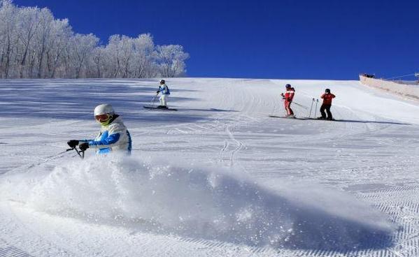 冬季冰雪旅游项目