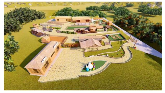 景区升级改造案例:准格尔旗黄河大峡谷旅游度假区