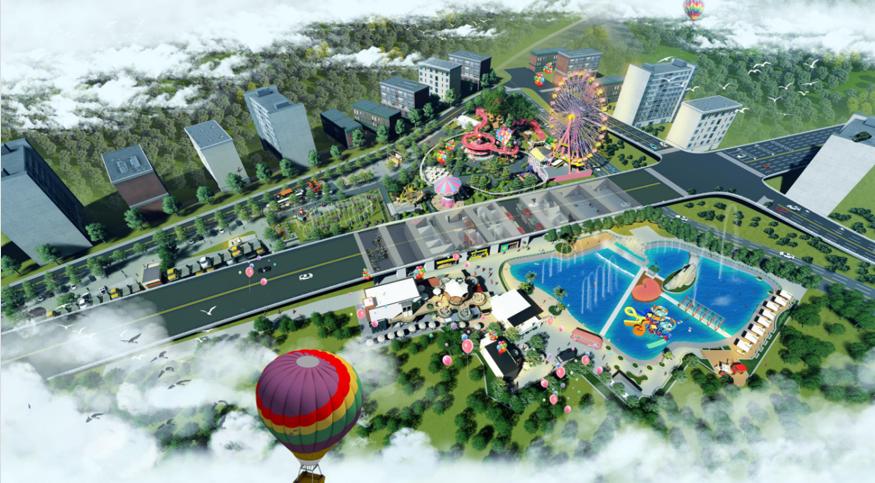 """创艺园城市公园升级改造项目""""梅州桥头公园""""案例分享"""
