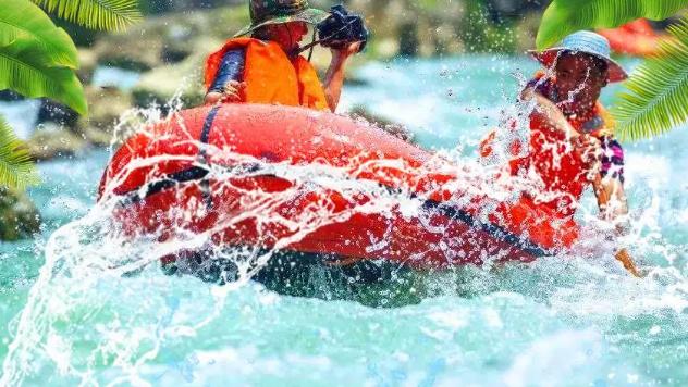 五一佛山网红打卡必到景点九道谷:汇聚漂流、水上乐园、机动游戏乐园一体的景区