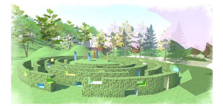 儿童乐园游乐空间设计