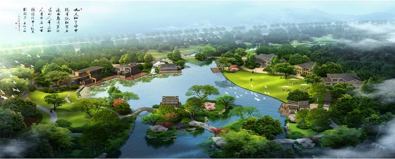 滨水型旅游度假村设计