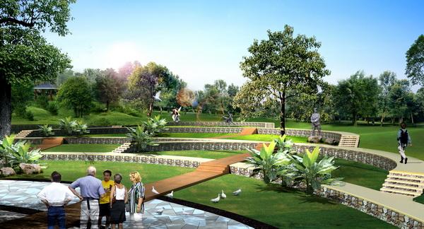 小型城市公园设计