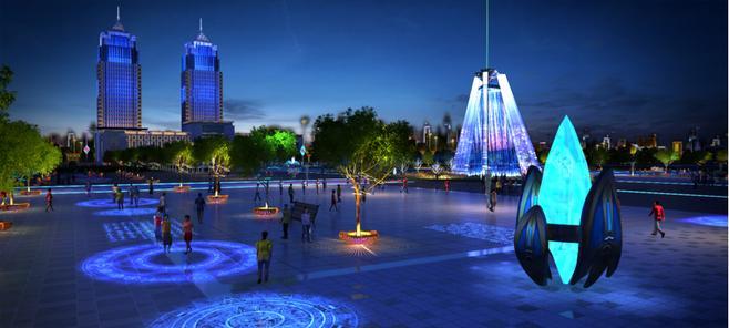 夜景成为旅游景区的超级大IP,主题游乐园夜景灯光设计应该如何来做?